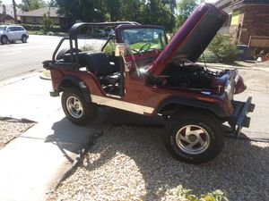 1974 jeep cj5. It has a chevy 200 straight 6. Im selling as is for 6,500 for Sale in South Salt Lake, UT