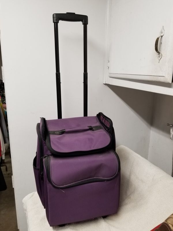 Scrapbook / Rolling Travel Bag