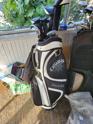 Callaway Solaire Golf Clubs Used Complete 8pc Set for Sale in East Haven, CT