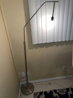 Silver Floor lamp for Sale in Gulfport, FL