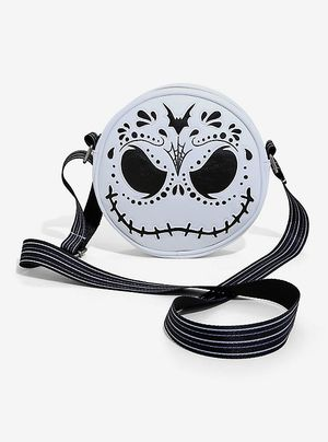 DISNEY LOUNGEFLY THE NIGHTMARE BEFORE CHRISTMAS JACK SUGAR SKULL CROSSBODY BAG for Sale in Montebello, CA