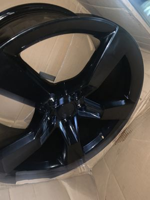 Camaro 20 inch black rim NEW for Sale in Gibsonton, FL