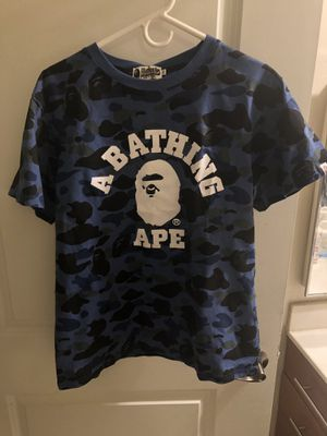 A BATHING APE BLUE CAMO for Sale in Washington, DC
