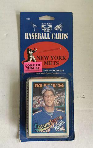 1990 NY Mets Team Set Donruss Topps Vintage Baseball Cards Sports America Club for Sale in Ocoee, FL