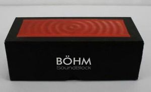 BÖHM SoundBlock Wireless Bluetooth Speaker for Sale in Royal Oak, MI