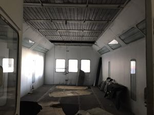Paint booth with all the attachments. All control panels. Great conditions. for Sale in Miami, FL