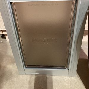 Dog Door Medium Silver for Sale in Gilbert, AZ