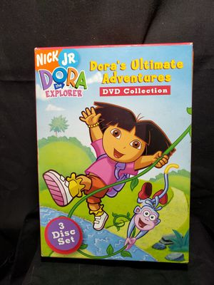 Nick JR Dora's Ultimate Adventures DVD Collection 3 disk set Excellent condition for Sale in Zanesville, OH
