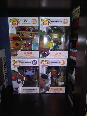 Funko Pop Lot - Overwatch - Pokemon - Witcher for Sale in Warwick, RI