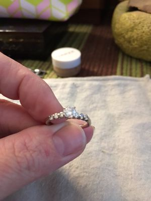 Diamond engagement ring for Sale in Fort Meade, FL