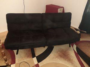 Newer twin size futon. Barely used, non smoker, non ill person for Sale in Escondido, CA
