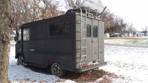 1966 cargo van stereo, carpet walls and generator quiet ,roof air ,nice... for Sale in Pacific Junction, IA
