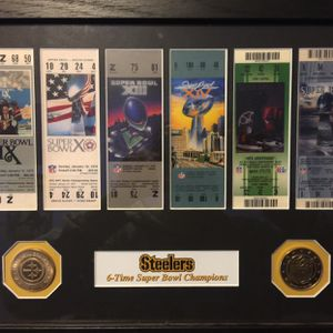 All 6 Steelers Super Bowl tickets for Sale in Land O Lakes, FL