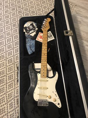 '82 Fender Stratocaster. Fender amp 90 watt DSP for Sale in Virginia Beach, VA