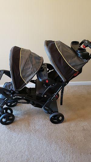 Baby Trend Sit n Stand double stroller for Sale in Ellenwood, GA