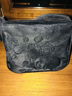 Black embossed evening bag perfect for NY eve or prom for Sale in Ashburn, VA