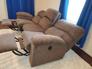 Custom made, la-z-boy fully reclining sofa for Sale in Centreville, VA