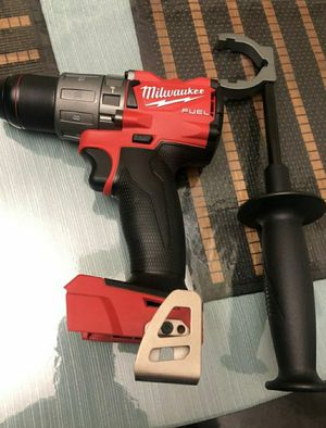 Milwaukee M18 FUEL 18-Volt Lithium-Ion Brushless Cordless 1/2 in. Hammer Drill / Driver (Tool-Only) for Sale in Chula Vista, CA