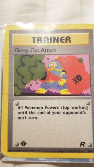 Goop gas attack 1 edition team rocket 78/82 for Sale in Wake Forest, NC