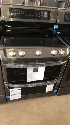 LG STOVE ELECTRIC NEW WARRANTY AND DELIVERY AVAILABLE for Sale in Hialeah, FL