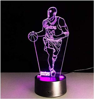 Kobe Bryant NBA NIGHT LIGHT TABLE LAMP for Sale in Voorhees Township, NJ