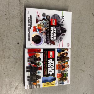 Lego Star Wars In 100 Scenes And Character Encyclopedia Book for Sale in Miami, FL