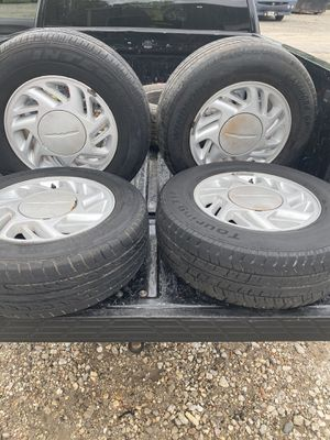 Classic Thunderbird 15 inch rims and tires for Sale in Spring, TX