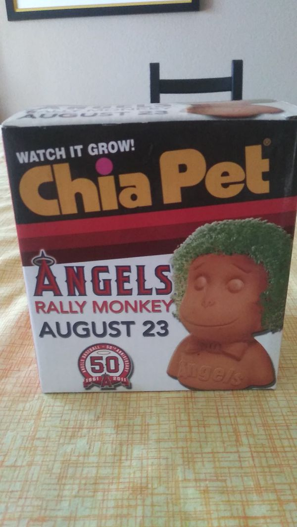 LA Angels Rally Monkey Chia Pet