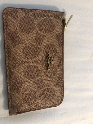 Coach coin &ID wallet for Sale in Aliso Viejo, CA