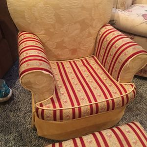 Child's Upholster Chair And Ottoman for Sale in Gibbsboro, NJ
