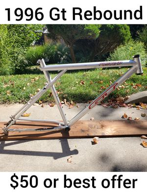 1996 GT Rebound vintage mountain bike frame (more original parts available) for Sale in Pittsburgh, PA
