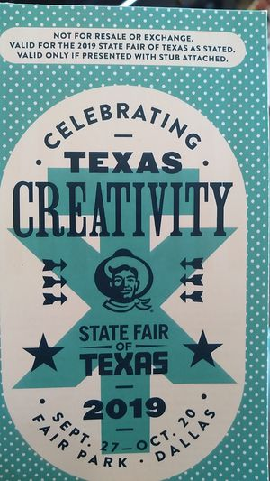Got 5 tickets for the Texas State Fair $50 or best offer for Sale in Fort Worth, TX