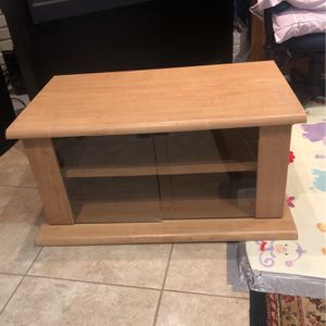 Tv Stand With Glass Doors for Sale in Madera, CA