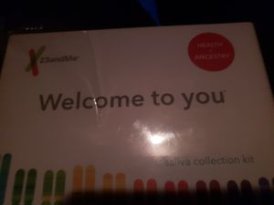23 and Me DNA saliva collection kit for Sale in Canyon Lake, TX