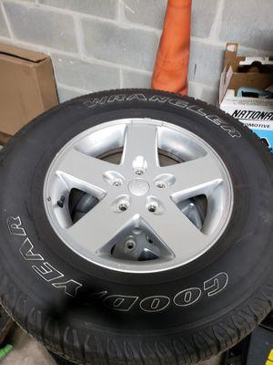 2015 jeep wheels for Sale in Auburndale, FL