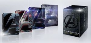 Avengers 4K Ultra HD + Blu-Ray + Digital Code 4 movie collection for Sale in Los Angeles, CA