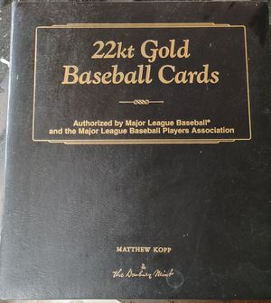 Danbury mint gold baseball cards for Sale in Yelm, WA