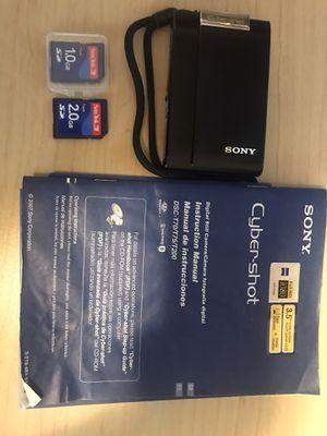 Sony cybershot dsc 200 digital camera for Sale in Yakima, WA