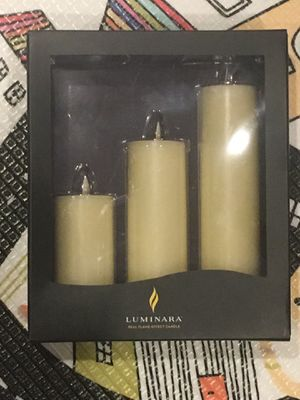 Luminara real effect candle for Sale in Chicago, IL