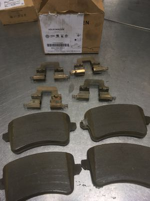 Genuine Audi Q5 and A5 rear brake pads and hardware for Sale in Parker, CO