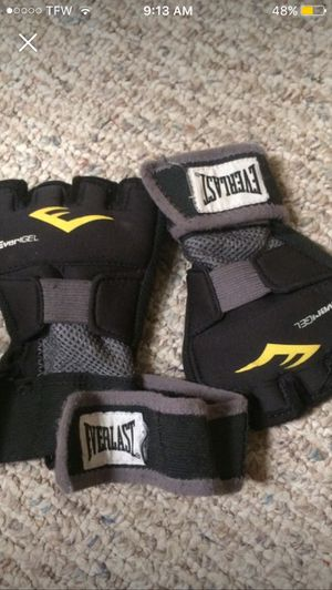 Everlast evergel boxing/trading gloves for Sale in Wenatchee, WA