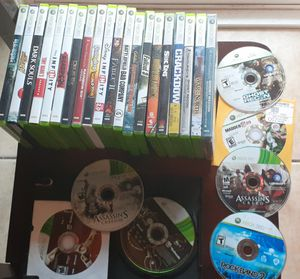 Xbox 360 game lot for Sale in Fresno, CA