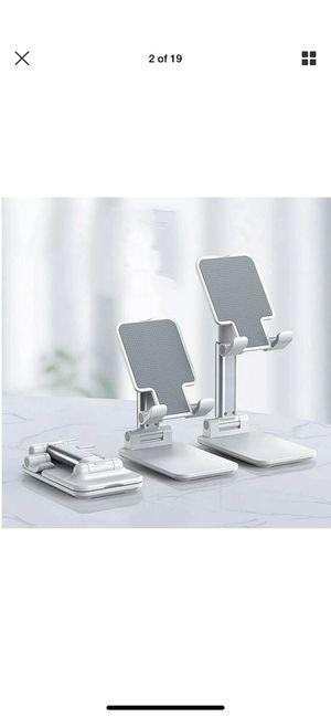 Foldable Adjustable Tablet Mobile Samsung iPad iPhone Desktop Holder Mount Stand for Sale in Norcross, GA