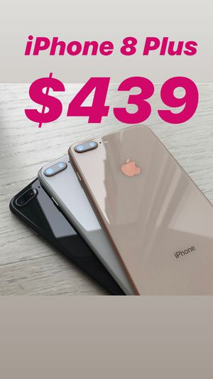 IPHONE 8 plus UNLOCKED ANY CARRIER EXCELLENT CONDITION WARRANTY FIRM 64GB price $439 for Sale in Tampa, FL