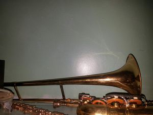 trombone and sax. for Sale in Uniondale, NY