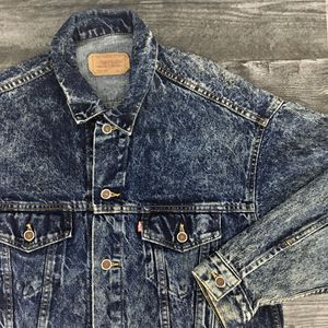 Vintage Levis Acid Wash Denim Jacket for Sale in Colorado Springs, CO