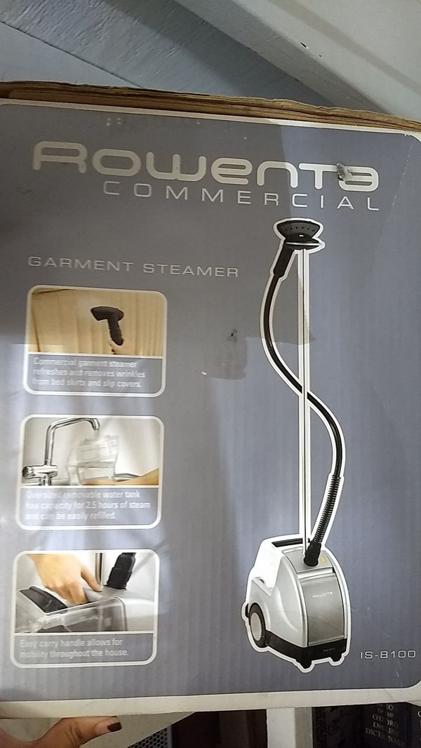 Rowenta Commercial qualify clothes steamer