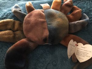 Claude the crab beanie baby for Sale in Las Vegas, NV