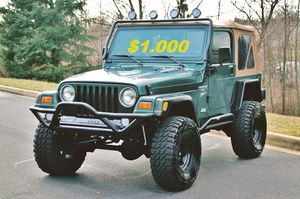 🎁⛔️🔑2000 Jeep Wrangler $1000🔑⛔️🎁 for Sale in Garrison, MD