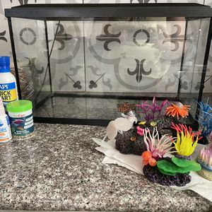 Fish Tanks & accessories (10 Gallon) for Sale in Antioch, CA